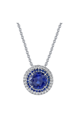 Omi Prive Duet Necklace P1272-PC1115-SARD product image