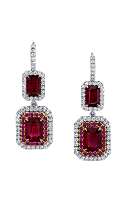 Omi Prive Duet Earrings E1224-EC1580-RUEC product image