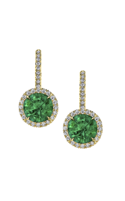 Omi Prive Dore Earrings E1190-ES1050-EMRD-YG product image