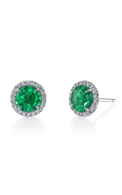 Omi Prive Dore Earrings S1268-SS1050-EMRD product image